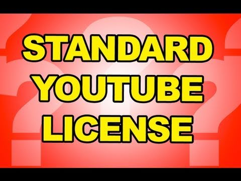 Standard Youtube License & Creative Commons