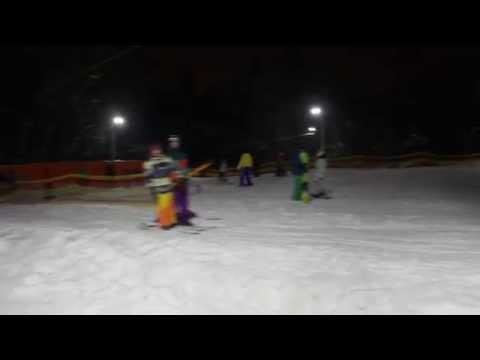 Лыжная горка Голосеево