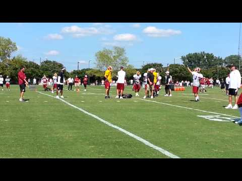 Redskins Wide Receivers, Secondary 07/29/13