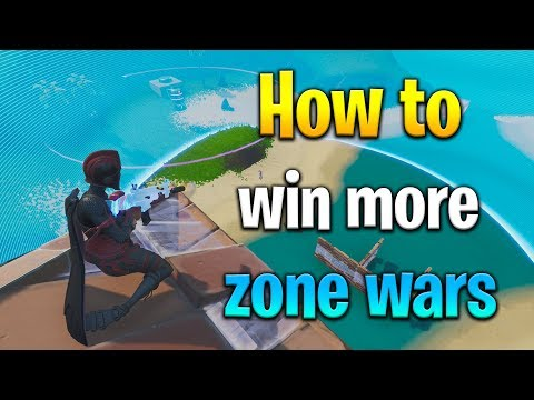 How to WIN MORE ZONE WARS in Fortnite! How to get better at fortnite! Fortnite zone wars