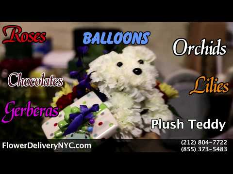 "Best NYC Florist ""Voted #1 Flower Delivery In New York City"" - Www.FlowerDeliveryNYC.com"