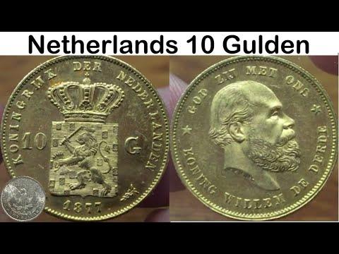 Gold - Netherlands 10 Gulden 1877 - from Apmex on eBay