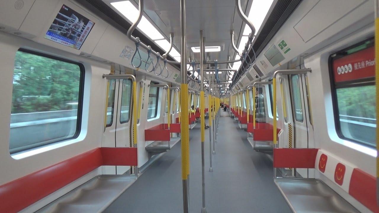 港鐵東西綫中國製列車 (D397/D398) 於馬鞍山綫首航情況 - YouTube