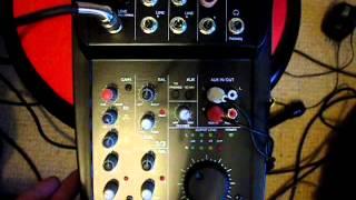 Alto ZMX52 5-Channel Mixing Desk Review