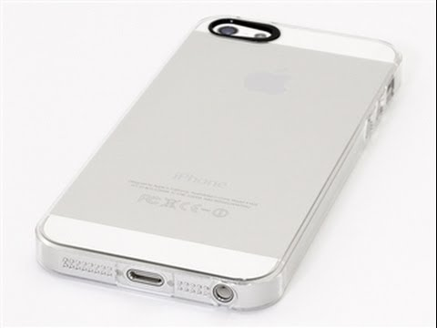 Power Support Air Jacket Clear iPhone 5s and 5