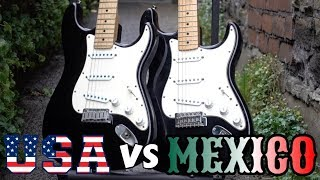 USA Strat vs Mexican: Which is Better?! | Friday Fretworks Video