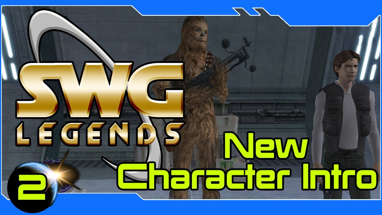 Star Wars Galaxies Legends - New Character Intro -Getting Started #2