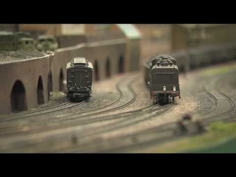 N Gauge Model Railway – somewhere in England