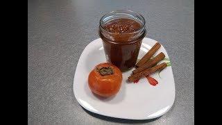 Рецепт Повидло из хурмы с грейпфрутом - сладкое и чуть терпкое варенье для гурманов