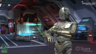 Star Wars The Old Republic PC Games Walkthrough GC 2009 Walkthrough Pt 3