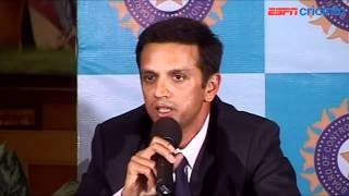 Rahul Dravid's retirement press conference