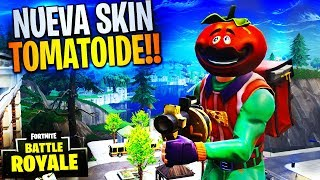"NOUVEAU SKIN ""TOMATOIDE"" FORTNITE Battle Royale ? Rubinho vlc"