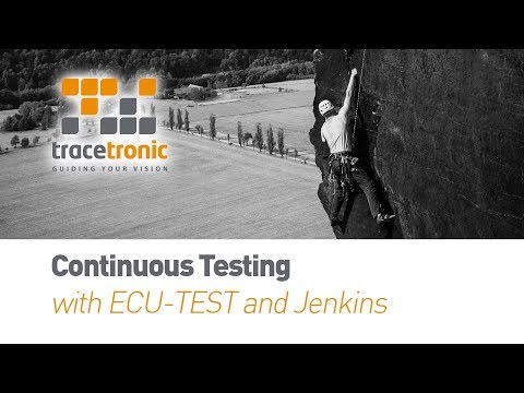 Continuous Testing with ECU-TEST and Jenkins