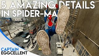 5 AMAZING Details In Spider-Man PS4