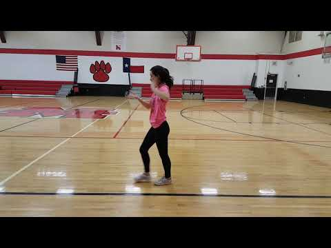 Maypearl 2018 tryout dance with music
