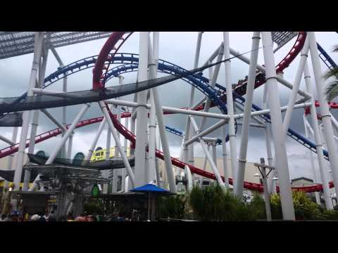 Battle star Galactica roller coaster ride