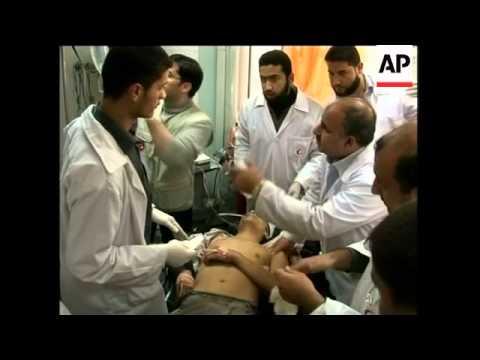 Palestinians hurt, Egypt border guard killed in clashes, reax