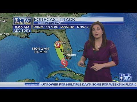 8 am Irma update