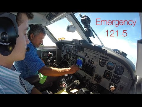 Plane Crash Emergency Relay - ALWAYS Monitor 121.5