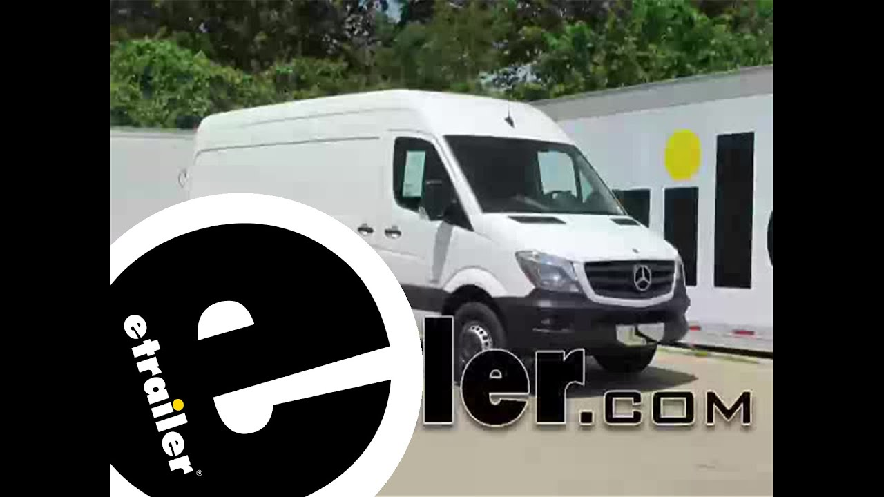 trailer wiring harness installation 2014 mercedes benz sprinter rh youtube com  mercedes sprinter trailer wiring diagram