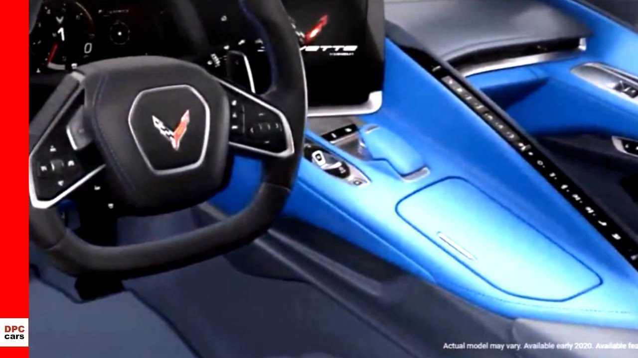 2020 Corvette C8 Interior Colors - YouTube