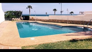 VIP7142 Front line Mojacar Beach apartment with