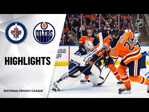 NHL Highlights | Jets @ Oilers 3/11/20