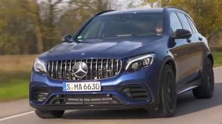 Le Mercedes-AMG GLC 63 4MATIC Plus embarque un moteur V8 AMG de 4.0 litresutube HD 1080p