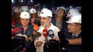 Enerji ve Tabii Kaynaklar Bakanı Taner YILDIZ Soma'da Madencilerle İftar Açtı (09/07/2013)