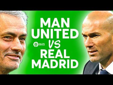 Manchester United vs Real Madrid!!! The HUGE Debate LIVE!