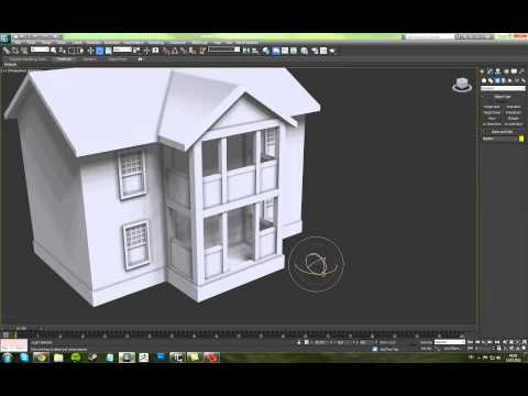 3ds Max Fumefx Simple Realistic Fire Tutorial Doovi: home 3d model