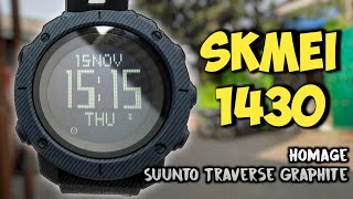 Cheap, Complited Features And Good Quality! Skmei 1430   Review, Full Setup