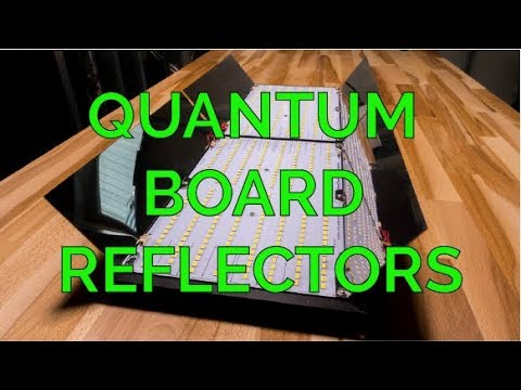 Hands On Review Hlg Quantum Board Reflectors Youtube