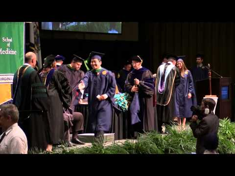 School of Medicine: Professional Programs Commencement, 2015: West Virginia University