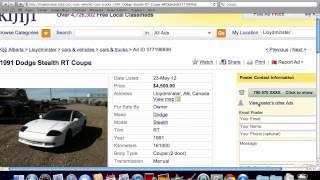 Kijiji Lloydminster Canada - Used Cars And Trucks Under $2000 In Alberta In 2012
