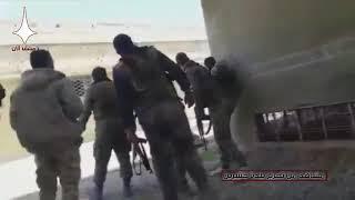 Syria War Video / Сирийская армия продвигается в восточной Гуте н.п. Джисир