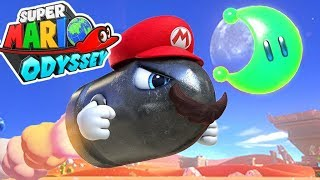 FINDING HIDDEN POWER MOONS! (Super Mario Odyssey) #2