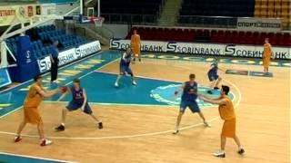 видео Нападение и защита в баскетболе