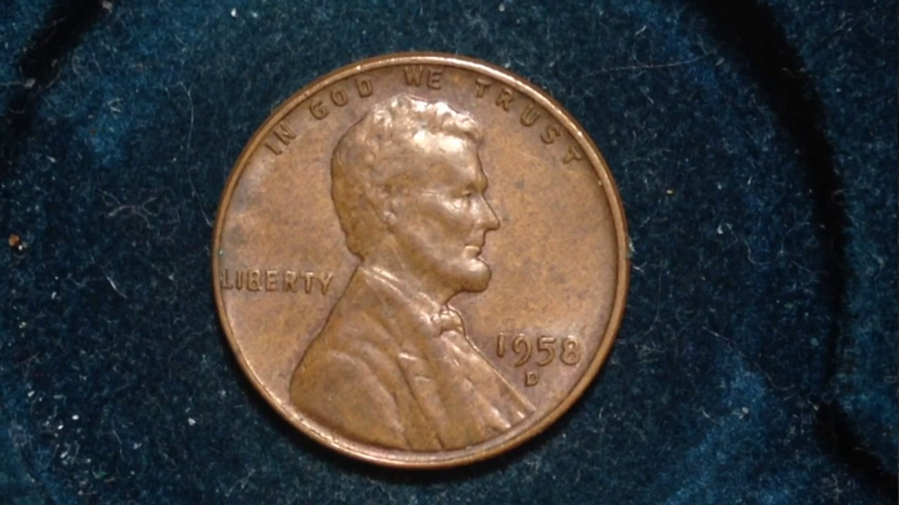 1 ROLL 50 coins 1957-D Lincoln Wheat Cents
