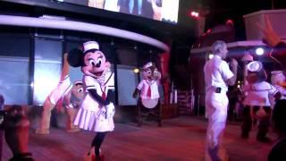 Sail Away Party on the Disney Disney Magic - Disney Cruise Line