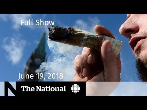 The National for Tuesday June 19, 2018 — U.S. Immigration, Legal Pot, Fish Farms