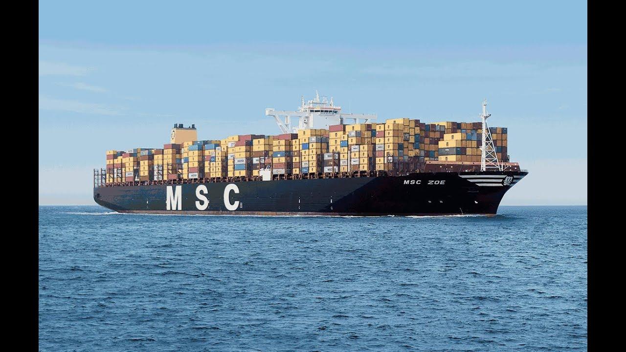 Ist Msc Zoe Das Größte Schiff Der Welt Youtube