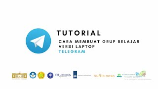 Telegram - Tutorial Cara Membuat Grup Belajar Versi Laptop