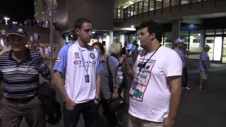 Fan Reaction | Melbourne City 4 Newcastle Jets 0