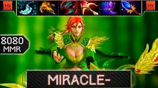 Miracle- playing Windranger vs Na`Vi.ArtStyle (QOP) - 8080 MMR - RANKED MATCHMAKING - Dota 2