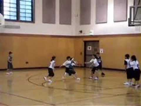 """""""Basketball"""" Spin Move, No-Look Assist"""