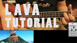 Lava Pixar - UKULELE Tutorial Acordes ( Fácil )
