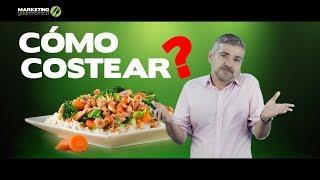 Cómo costear los platos de un menú - Marketing Gastronómico
