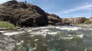 Floating the John Day River in Eastern Oregon with Pontoon Boats