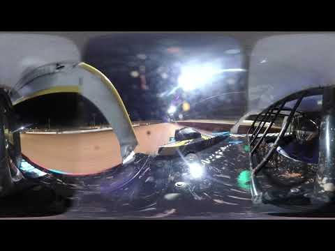 360 Video from Diamond Park Speedway Turkey Bash. - dirt track racing video image
